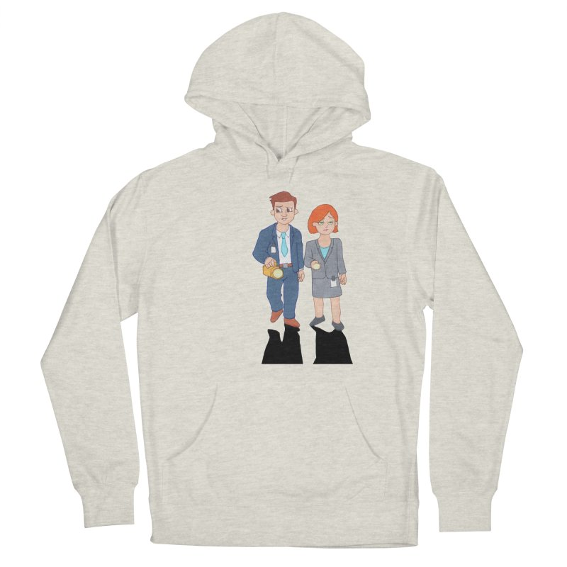 Out There Men's Pullover Hoody by Near Mint Mill's Artist Shop