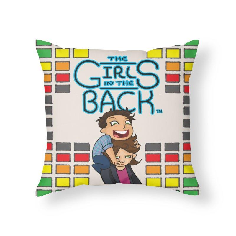 GITB Pillow Home Throw Pillow by Near Mint Mill's Artist Shop