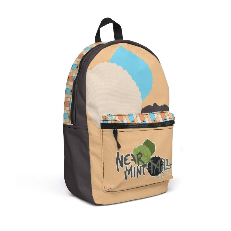 NMM Backpack (Sherbet) Accessories Bag by Near Mint Mill's Artist Shop