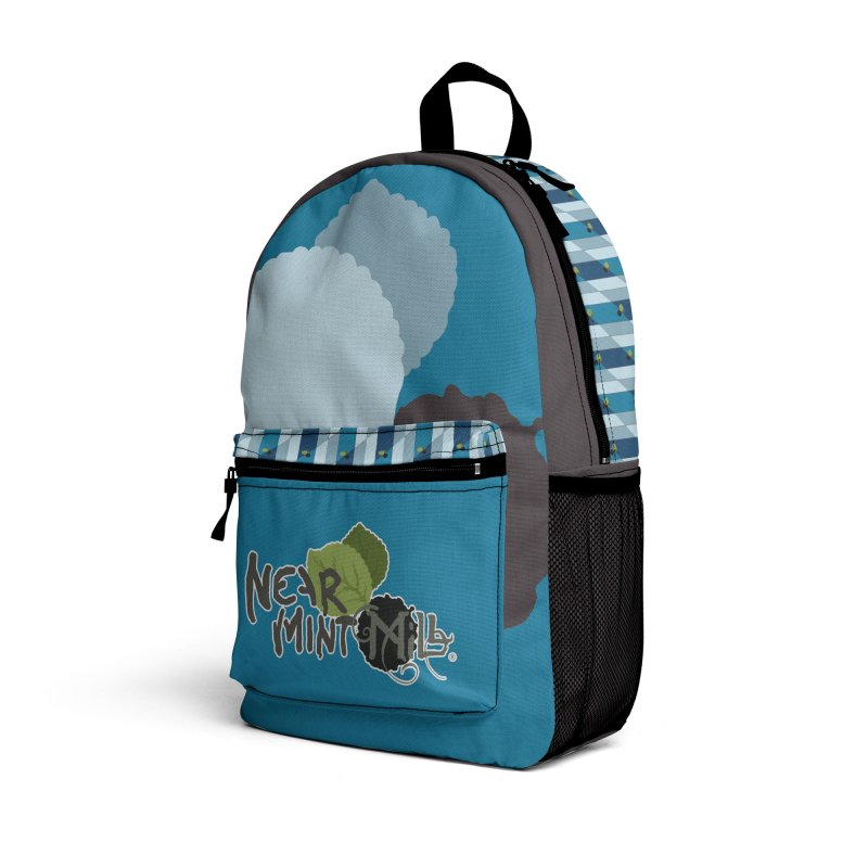 NMM Backpack (blue) Accessories Bag by Near Mint Mill's Artist Shop