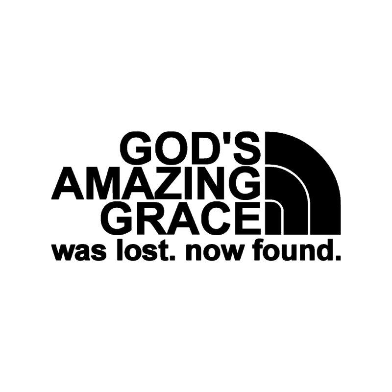 God's Amazing Grace black by NewGraceMerch's Artist Shop