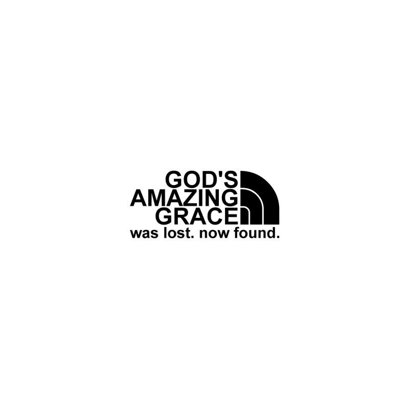 God's Amazing Grace small black by NewGraceMerch's Artist Shop