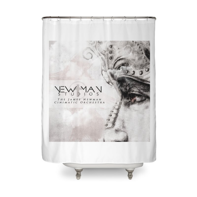 New Man Studios Cinematic Orchestra Home Shower Curtain by NewManStudios's Artist Shop