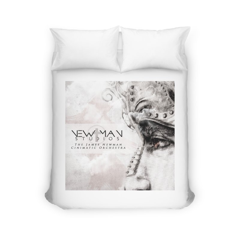 New Man Studios Cinematic Orchestra Home Duvet by NewManStudios's Artist Shop