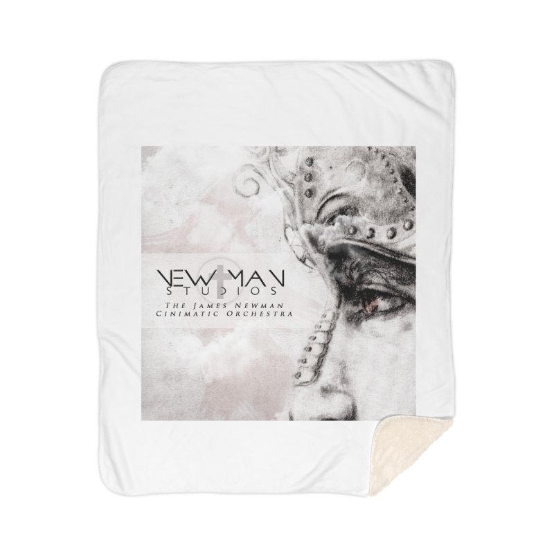 New Man Studios Cinematic Orchestra Home Sherpa Blanket Blanket by NewManStudios's Artist Shop