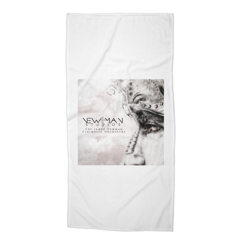New Man Studios Cinematic Orchestra Accessories Beach Towel by NewManStudios's Artist Shop