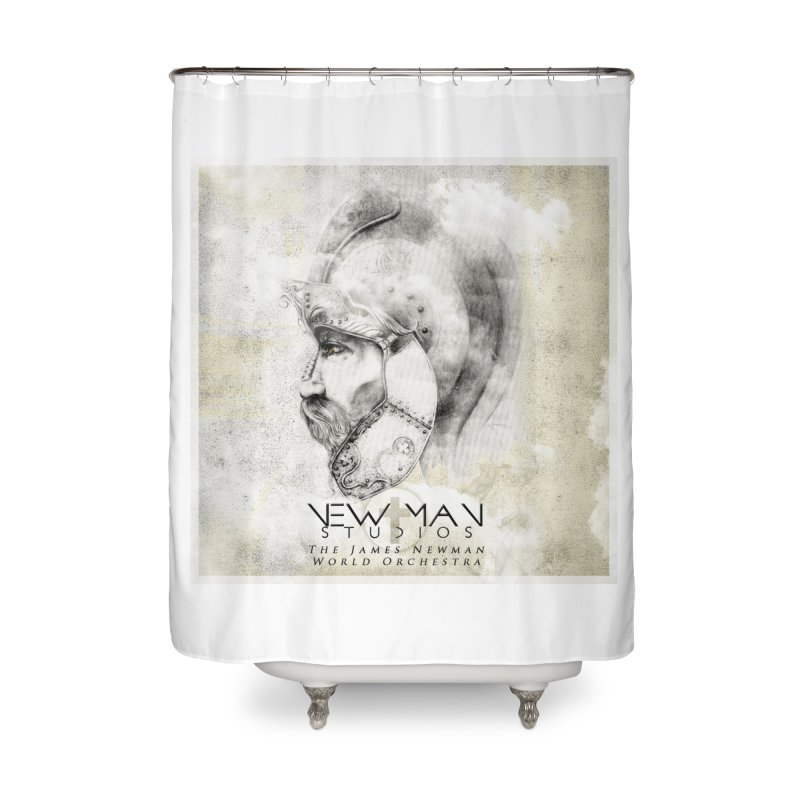 New Man Studios World Orchestra Home Shower Curtain by NewManStudios's Artist Shop