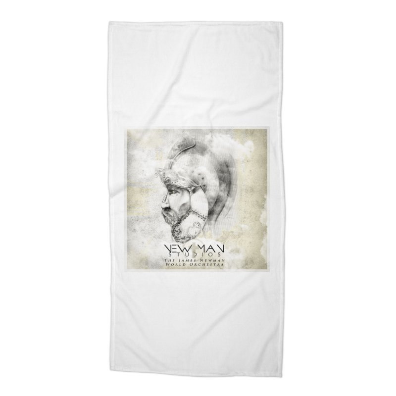 New Man Studios World Orchestra Accessories Beach Towel by NewManStudios's Artist Shop