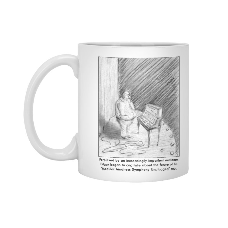 Edgar's Dilemma Accessories Mug by NewManStudios's Artist Shop