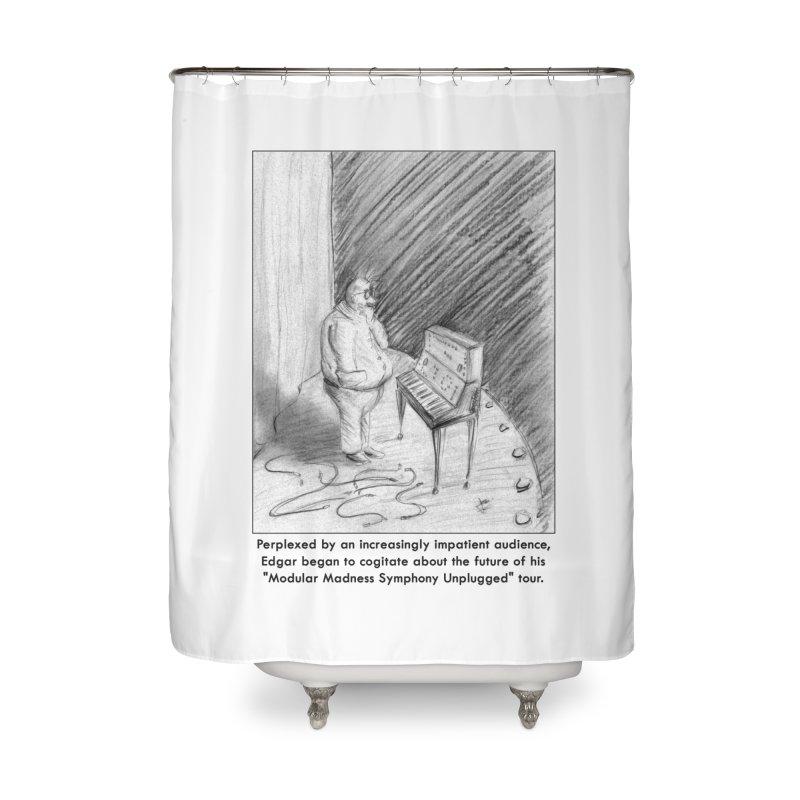 Edgar's Dilemma Home Shower Curtain by NewManStudios's Artist Shop