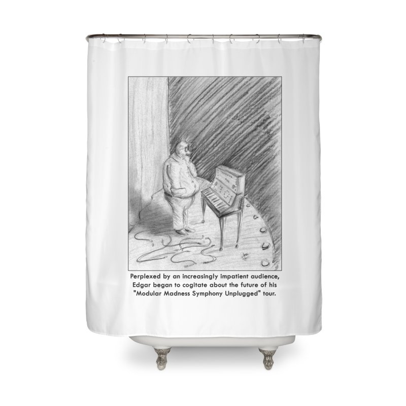 Edgar's Dilemma Home Shower Curtain by NewManStudios's Artist Shop
