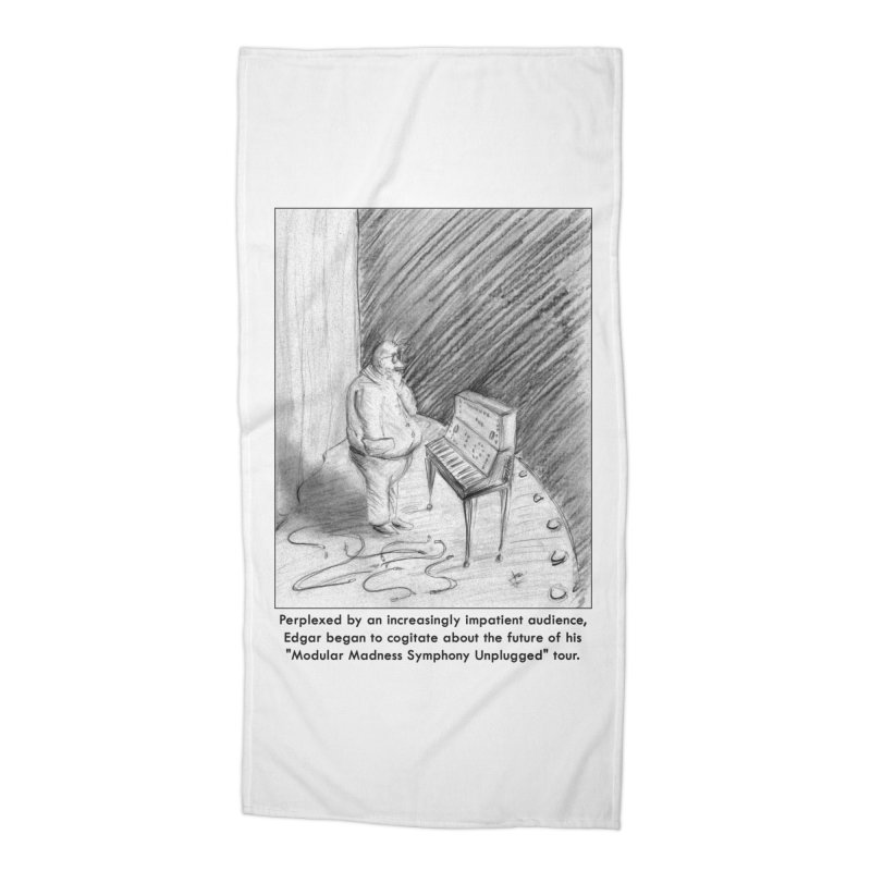 Edgar's Dilemma Accessories Beach Towel by NewManStudios's Artist Shop
