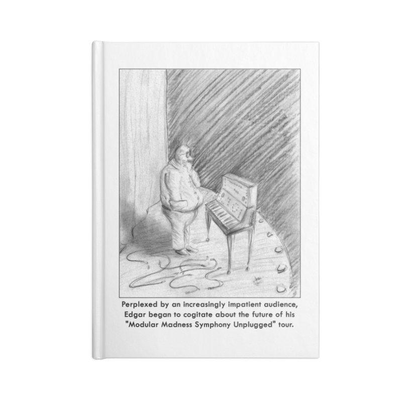 Edgar's Dilemma Accessories Lined Journal Notebook by NewManStudios's Artist Shop