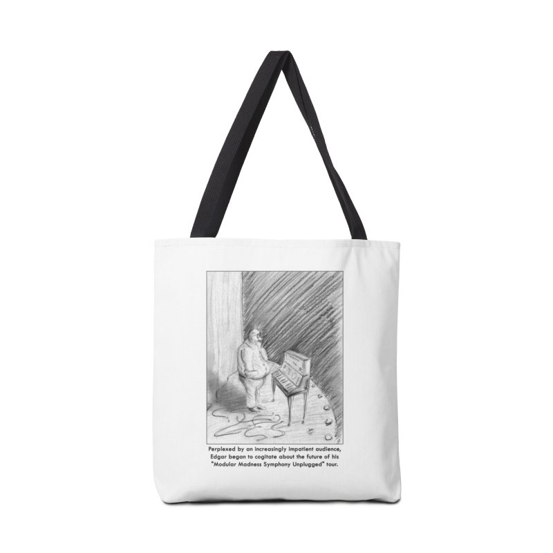 Edgar's Dilemma Accessories Tote Bag Bag by NewManStudios's Artist Shop