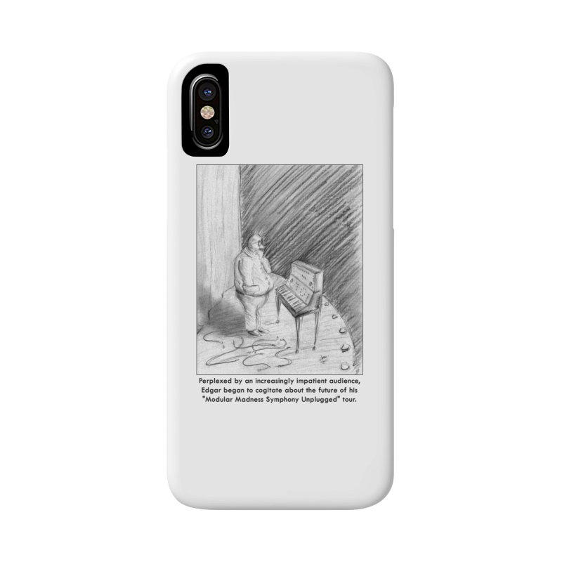Edgar's Dilemma Accessories Phone Case by NewManStudios's Artist Shop