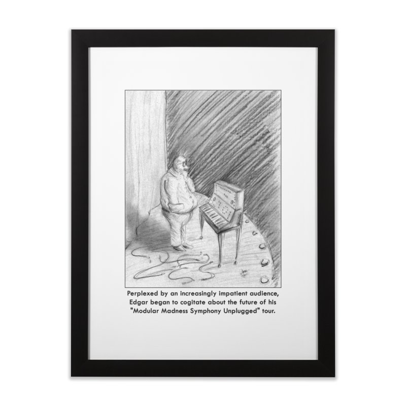 Edgar's Dilemma Home Framed Fine Art Print by NewManStudios's Artist Shop