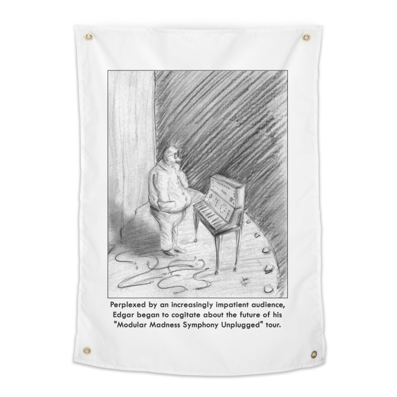 Edgar's Dilemma Home Tapestry by NewManStudios's Artist Shop