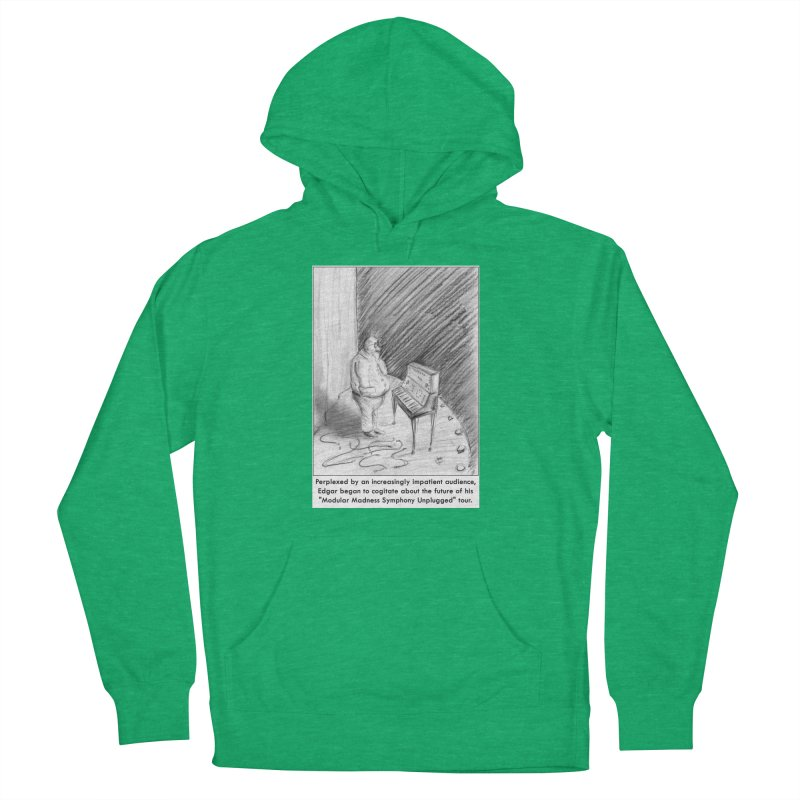 Edgar's Dilemma Women's French Terry Pullover Hoody by NewManStudios's Artist Shop