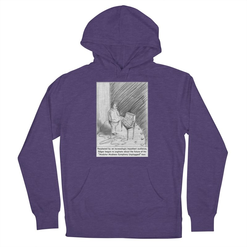 Edgar's Dilemma Women's Pullover Hoody by NewManStudios's Artist Shop