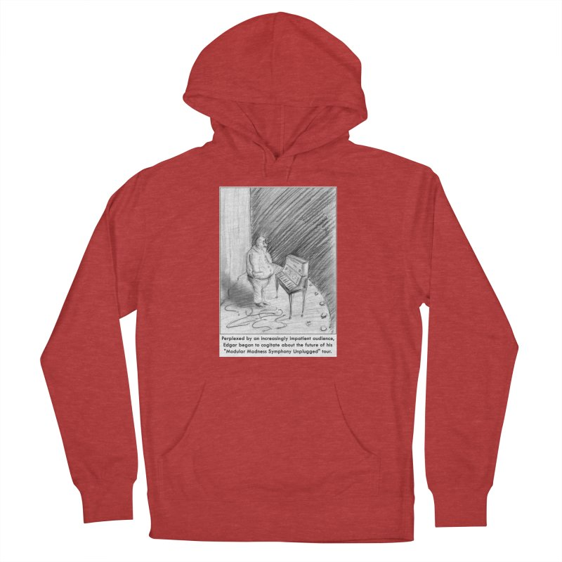 Edgar's Dilemma Men's French Terry Pullover Hoody by NewManStudios's Artist Shop