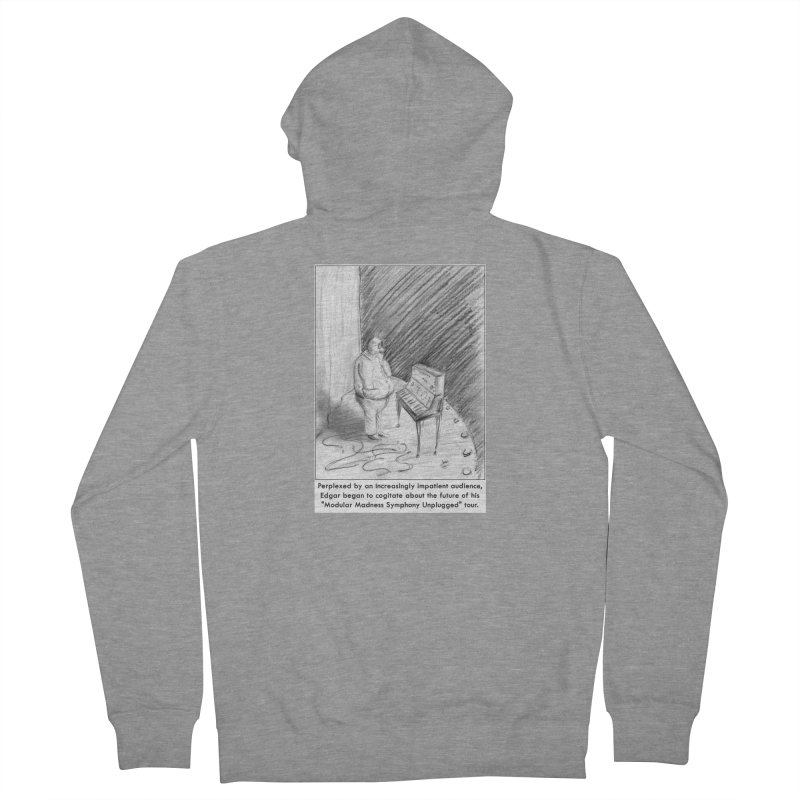 Edgar's Dilemma Women's Zip-Up Hoody by NewManStudios's Artist Shop