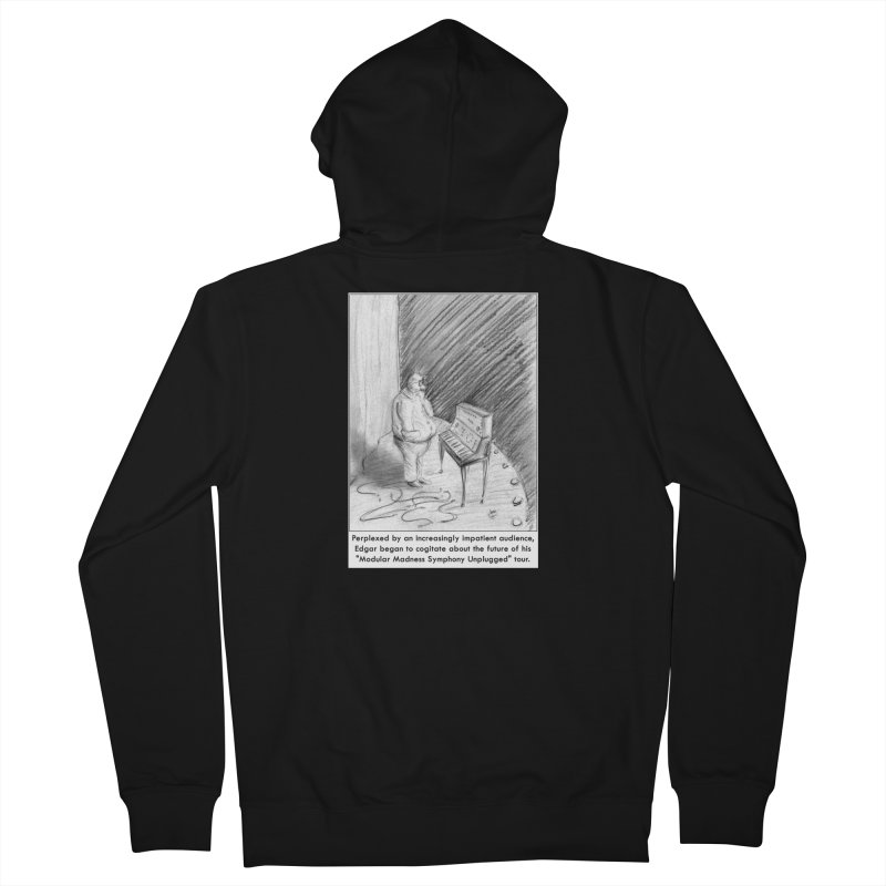 Edgar's Dilemma Men's French Terry Zip-Up Hoody by NewManStudios's Artist Shop