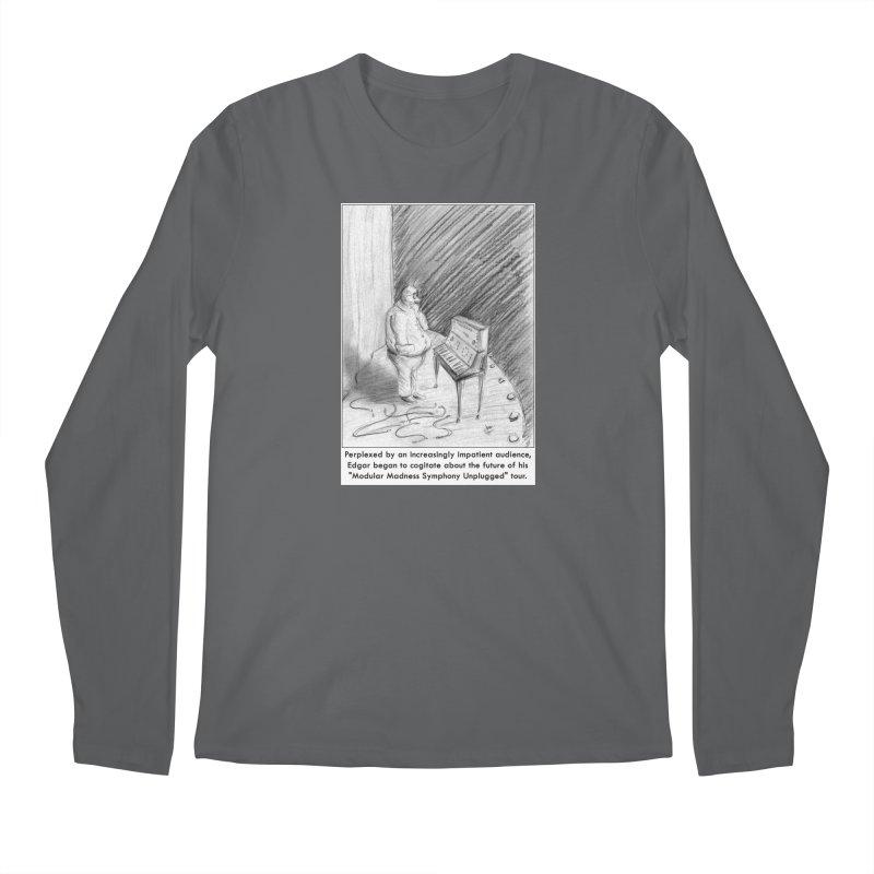 Edgar's Dilemma Men's Longsleeve T-Shirt by NewManStudios's Artist Shop