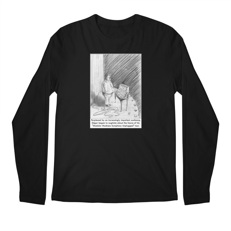 Edgar's Dilemma Men's Regular Longsleeve T-Shirt by NewManStudios's Artist Shop