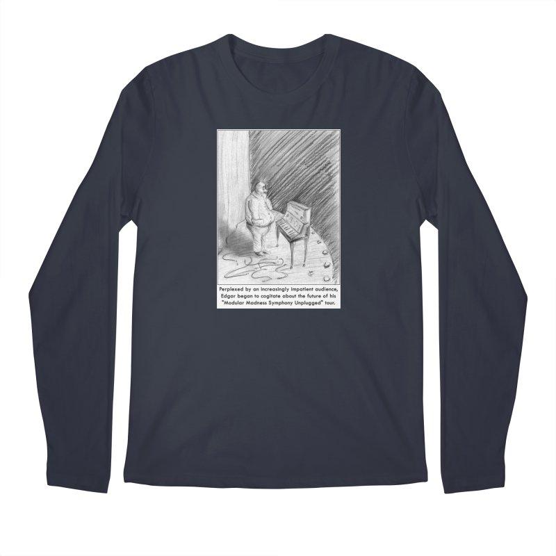 Edgar's Dilemma Men's Regular Longsleeve T-Shirt by NewManStudios's Artist Shop