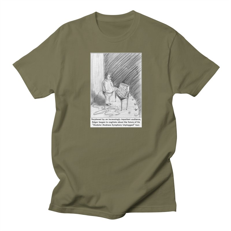 Edgar's Dilemma Women's Regular Unisex T-Shirt by NewManStudios's Artist Shop