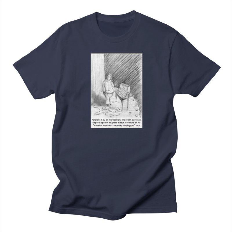 Edgar's Dilemma Men's T-Shirt by NewManStudios's Artist Shop