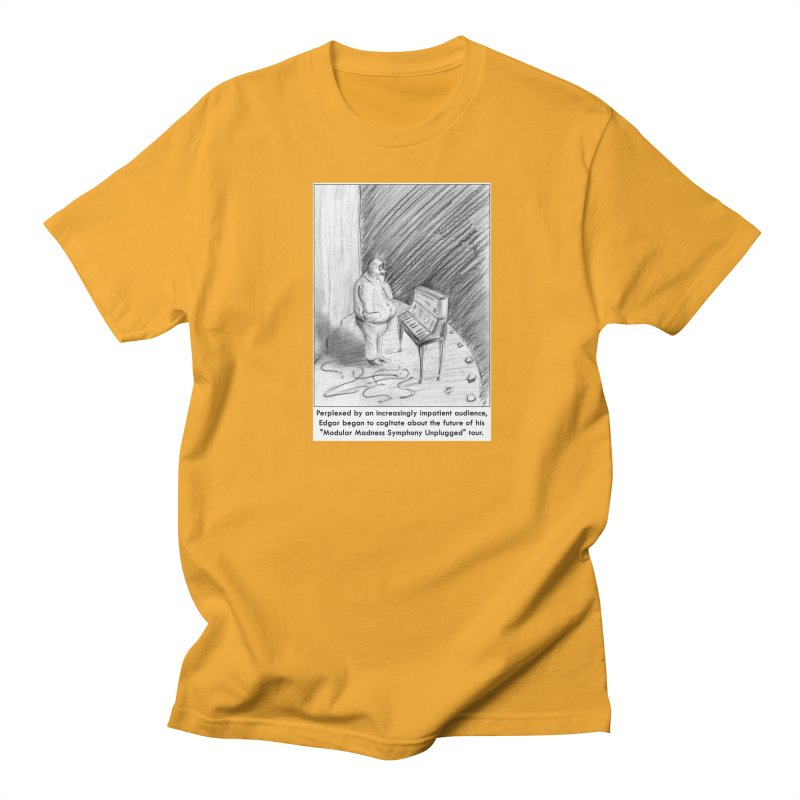 Edgar's Dilemma Men's Regular T-Shirt by NewManStudios's Artist Shop