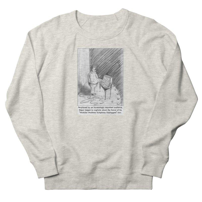 Edgar's Dilemma Women's French Terry Sweatshirt by NewManStudios's Artist Shop