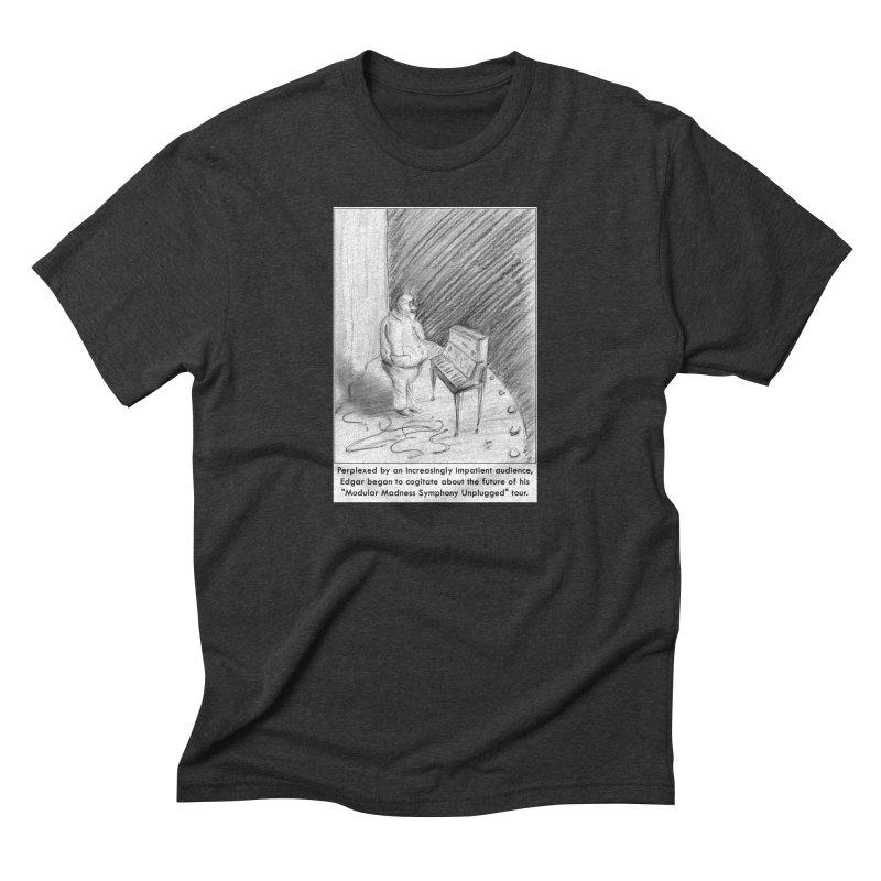 Edgar's Dilemma Men's Triblend T-shirt by NewManStudios's Artist Shop