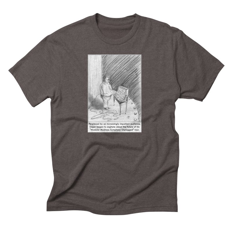 Edgar's Dilemma Men's Triblend T-Shirt by NewManStudios's Artist Shop