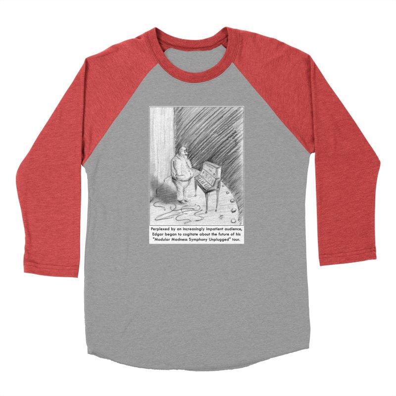 Edgar's Dilemma Women's Baseball Triblend Longsleeve T-Shirt by NewManStudios's Artist Shop