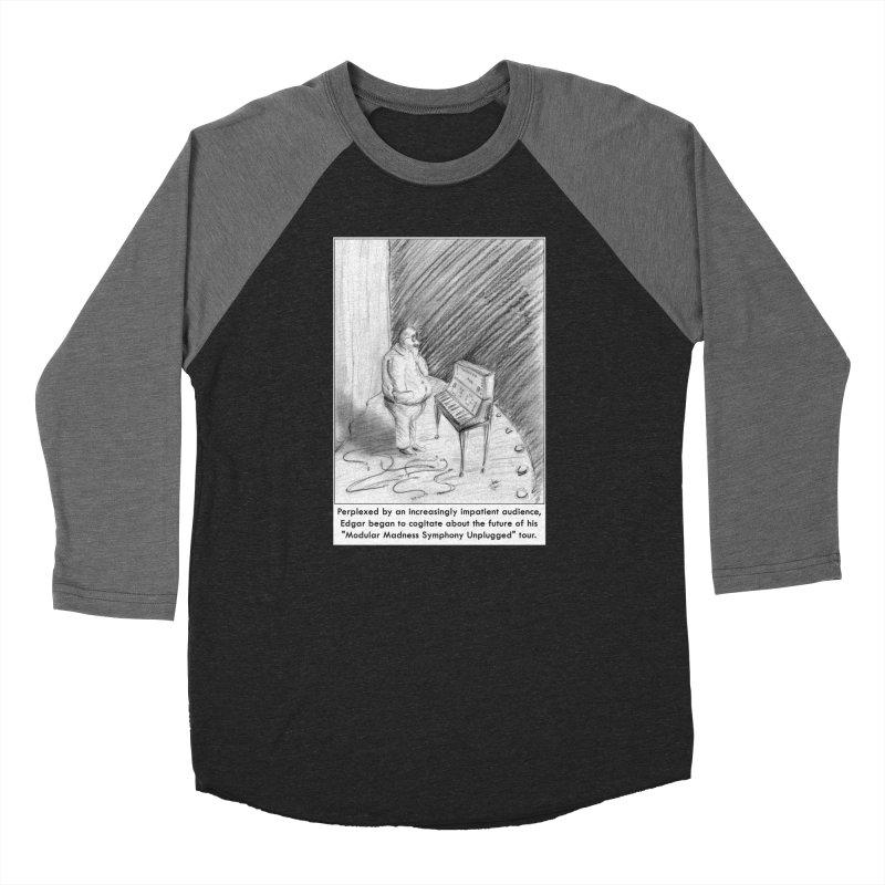 Edgar's Dilemma Women's Baseball Triblend T-Shirt by NewManStudios's Artist Shop