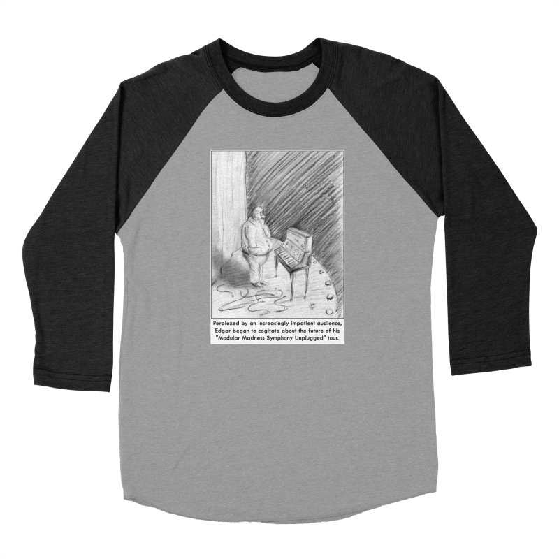 Edgar's Dilemma Men's Baseball Triblend Longsleeve T-Shirt by NewManStudios's Artist Shop