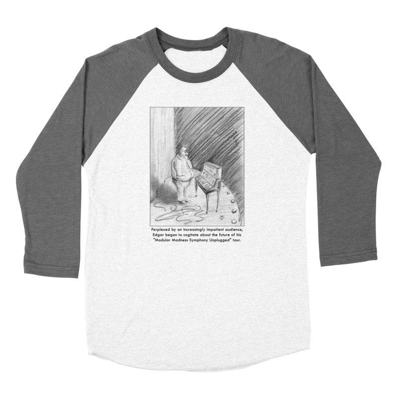 Edgar's Dilemma Men's Baseball Triblend T-Shirt by NewManStudios's Artist Shop