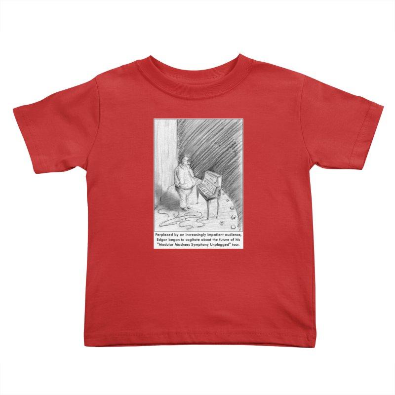 Edgar's Dilemma Kids Toddler T-Shirt by NewManStudios's Artist Shop
