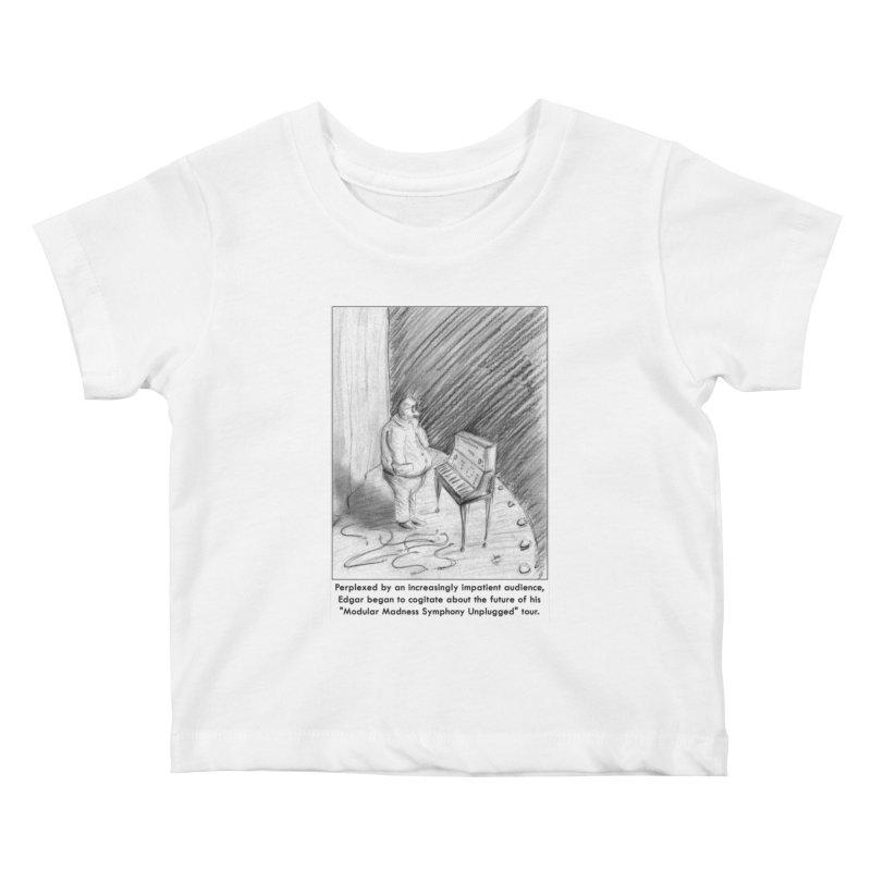 Edgar's Dilemma Kids Baby T-Shirt by NewManStudios's Artist Shop