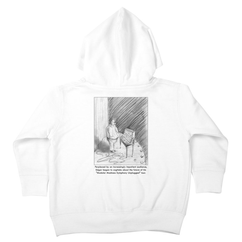 Edgar's Dilemma Kids Toddler Zip-Up Hoody by NewManStudios's Artist Shop