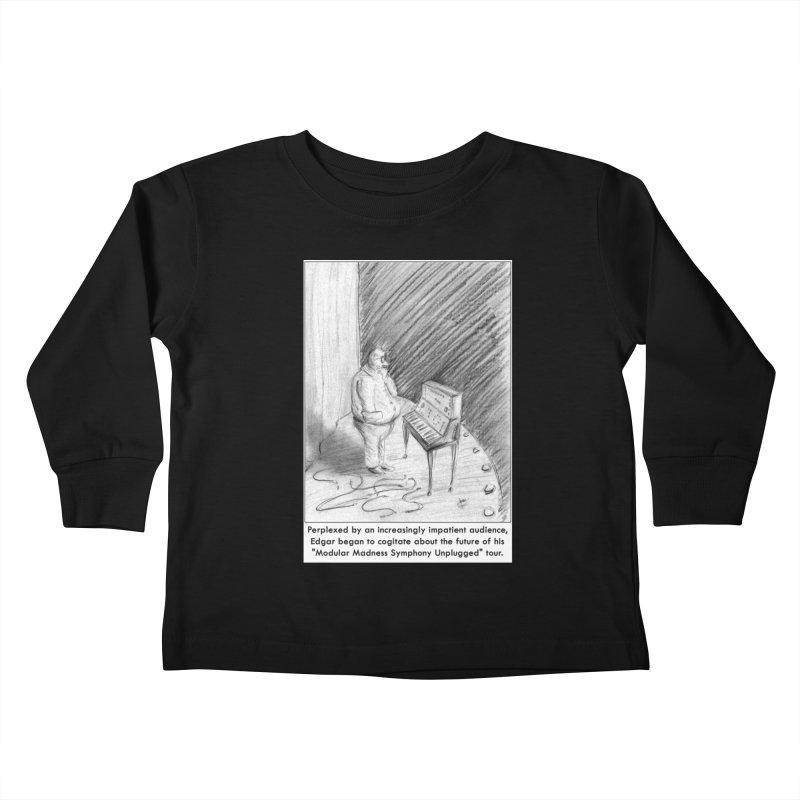 Edgar's Dilemma Kids Toddler Longsleeve T-Shirt by NewManStudios's Artist Shop