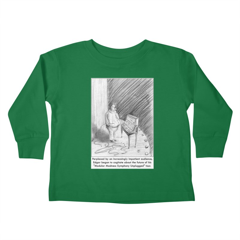 Edgar's Dilemma Kids Toddler Longsleeve T-Shirt by NewManStudios's Artist Shop