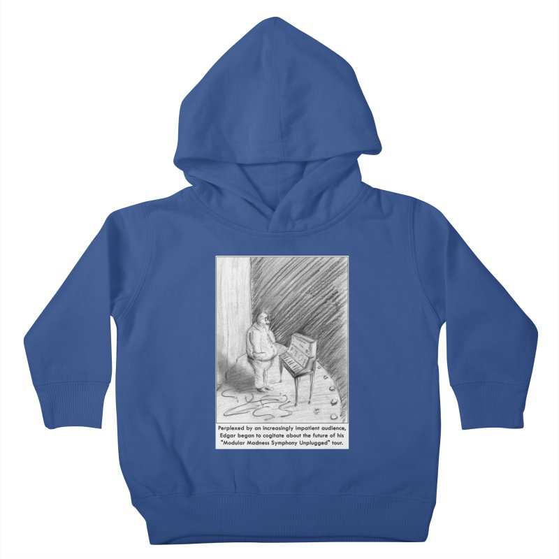 Edgar's Dilemma Kids Toddler Pullover Hoody by NewManStudios's Artist Shop