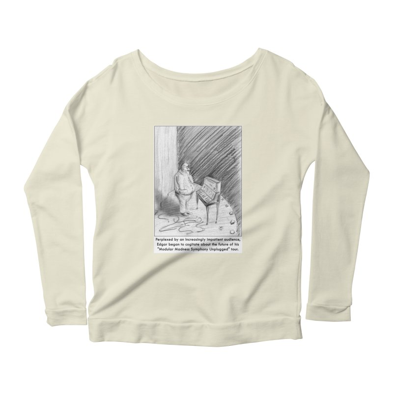 Edgar's Dilemma Women's Scoop Neck Longsleeve T-Shirt by NewManStudios's Artist Shop