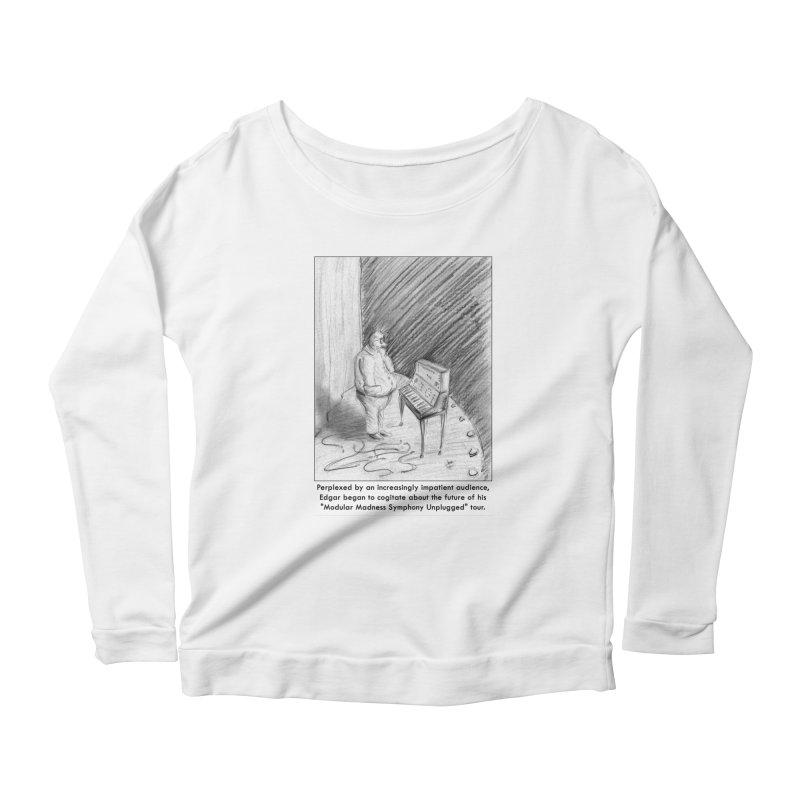 Edgar's Dilemma Women's Scoop Neck Longsleeve T-Shirt by NewManStudios's Artist Shop