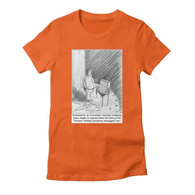 Edgar's Dilemma Women's Fitted T-Shirt by NewManStudios's Artist Shop