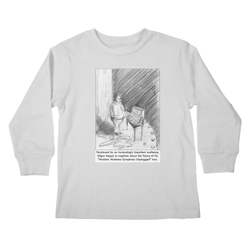 Edgar's Dilemma Kids Longsleeve T-Shirt by NewManStudios's Artist Shop