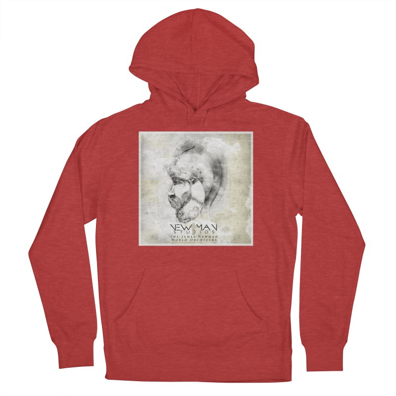 New Man Studios World Orchestra Men's French Terry Pullover Hoody by NewManStudios's Artist Shop